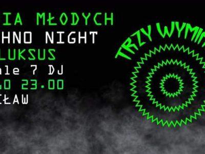 Rewia Młodych vol.1 Techno night