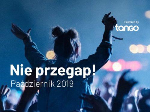 Wydarzenia w październiku 2019 – TOP 5 koncertów, których nie możesz przegapić