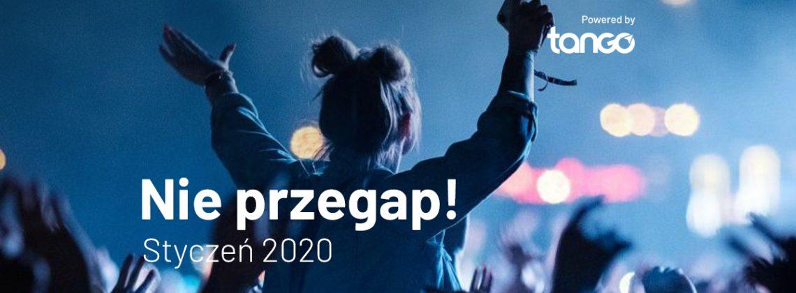 TOP 5: koncerty w styczniu 2020, których nie możesz przegapić