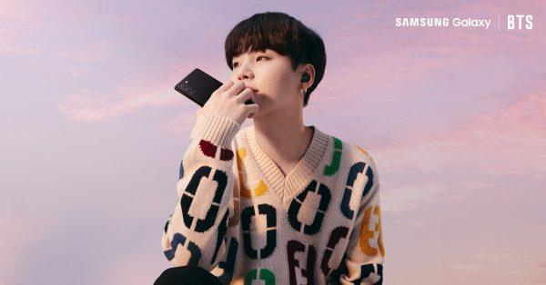 Suga z BTS opracował nowy dzwonek dla Samsunga