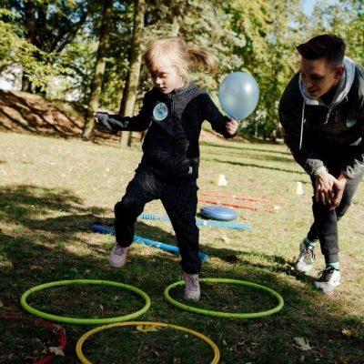 Sobotnie zajęcia dla dzieci w Parku Żeromskiego