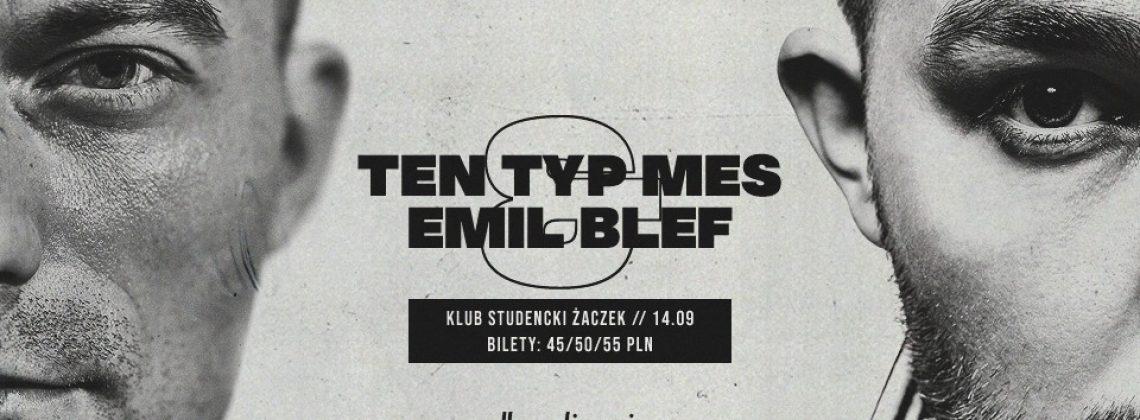 Ten Typ Mes i Emil Blef w Krakowie