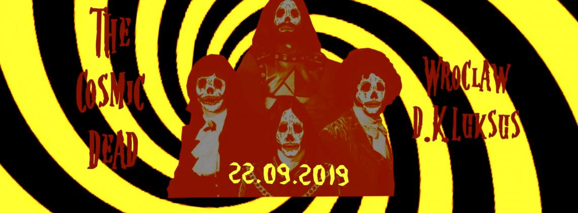 The Cosmic Dead / Prąd / Wroclaw / 22.09