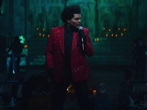 "The Weeknd VS. Grammy. Wymowny teledysk do ""Save Your Tears"""