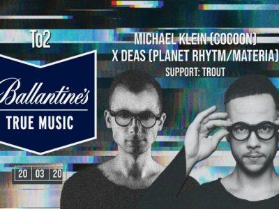 True Music pres. Michael Klein (Berlin/COCOON) & Deas [zmiana daty]