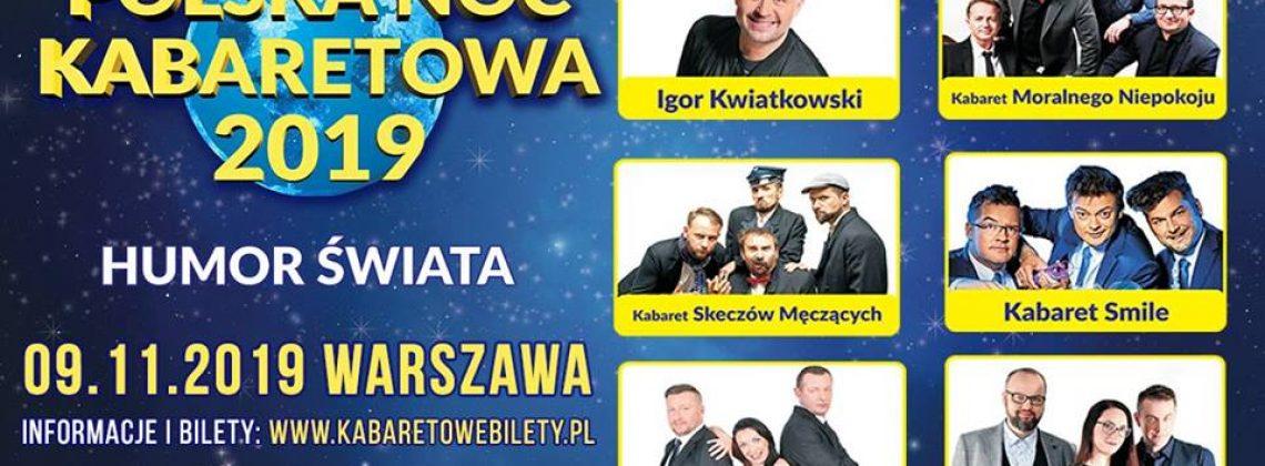Warszawa | Polska Noc Kabaretowa 2019