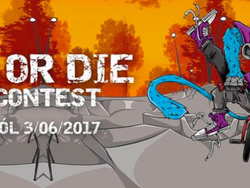 Fight or Die 2017- dwudniowe święto dla miłośników graffiti, BMX-ów i break dance'u!