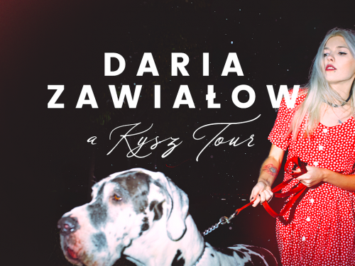 Daria Zawiałow rusza w trasę koncertową. Jesienią zagra w 13 klubach!