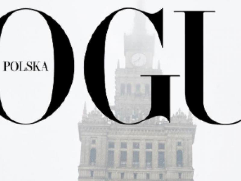 Anja Rubik i Małgorzata Bela na okładce pierwszego polskiego Vogue pozują w… warszawskim smogu.