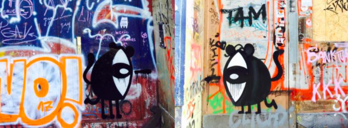 Najpopularniejszy poznański street art'owiec wydał zina! Teraz Noriaki może być na Twojej półce.