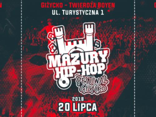 Mazury Hip Hop Festiwal 2018 – kolejni raperzy w line up'ie! Sprawdź, kto zagra w Giżycku!