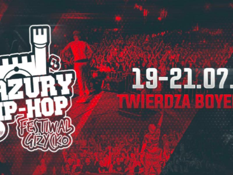 Na całych jeziorach Ty i… hip hop! Mazury Hip Hop Festiwal 2018 zaprasza do Giżycka.