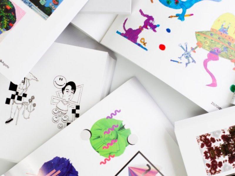 Ładne rzeczy się do Ciebie kleją? W albumie Sticky Icky II znajdziesz mnóstwo dizajnerskich naklejek!