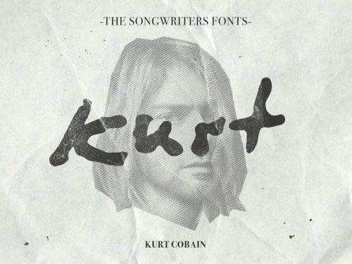 Chcesz pisać, jak John Lennon, David Bowie albo Kurt Cobain? Dzięki francuskiemu grafikowi teraz jest to możliwe!