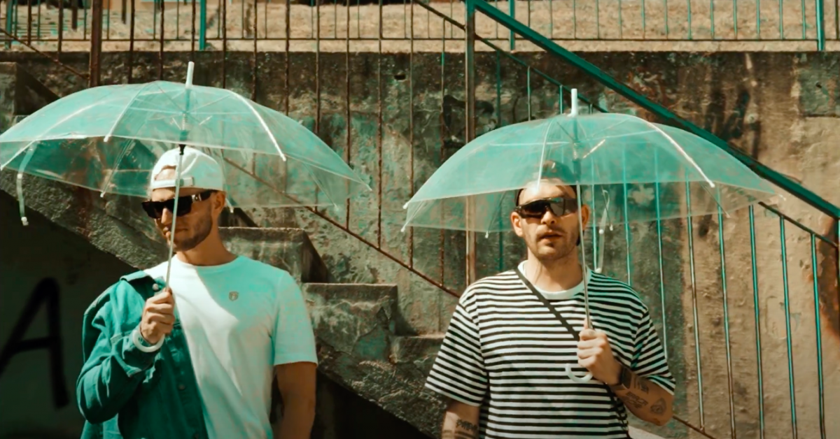 Aero i Gedz w nowym singlu oddają hołd hip-hopowym legendom