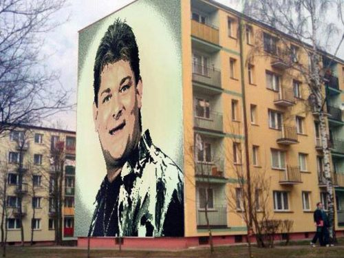 Król disco polo będzie miał swój mural w Białymstoku?