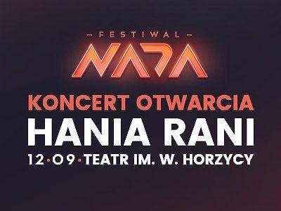 Hania Rani – Koncert Otwarcia – Festiwal NADA 2019