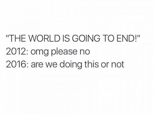 Rok 2016 walnął nas między oczy. Jak przetrwać trudne czasy?
