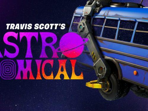 Travis Scott zagra koncerty na żywo w grze Fortnite