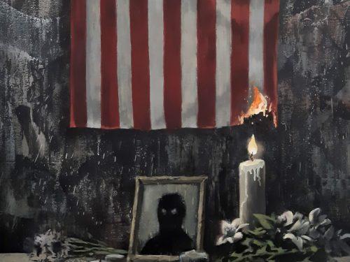 Banksy nową pracą komentuje śmierć George'a Floyda