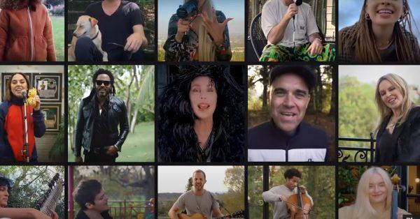 Kylie Minogue, Cher, Lenny Kravitz i inni w nowym charytatywnym singlu radia BBC