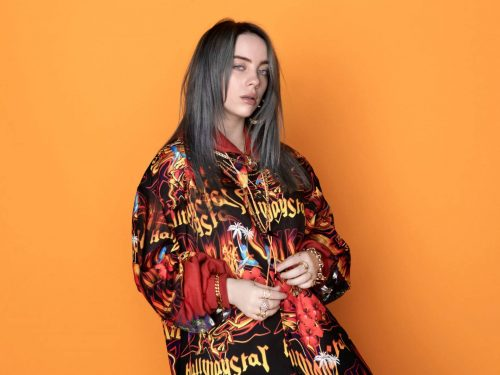 "Billie Eilish z klipem do utworu ""all the good girls go to hell"""