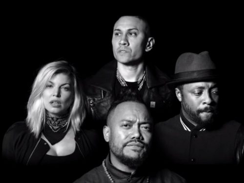 "Pełna gwiazd nowa wersja ""Where Is The Love"" Black Eyed Peas"