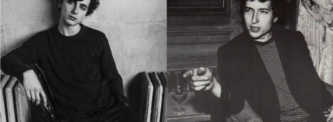 Timothée Chalamet wcieli się w rolę Boba Dylana?
