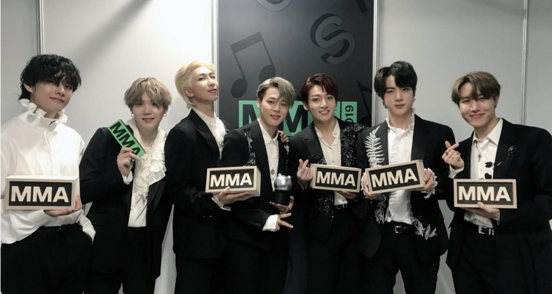 BTS na rozdaniu nagród MMA 2019 - najlepsze momenty