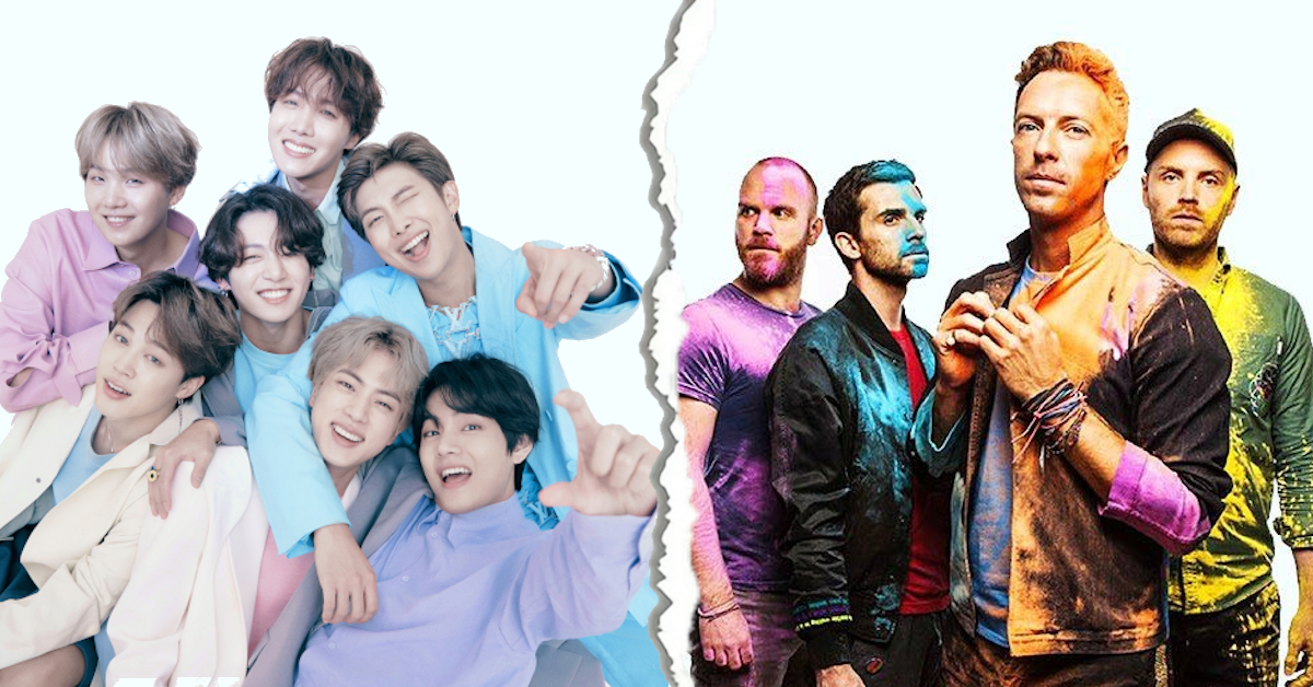 """BTS i Coldplay łączą siły w kawałku """"My Universe"""""""