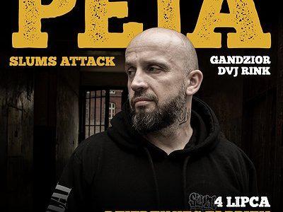 Peja/Slums Attack | P23, Dziedziniec Fabryki Porcelany | Katowice