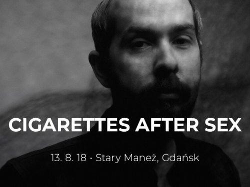 Cigarettes After Sex powraca do Polski! Ambientowo-popowy kolektyw zagra w Gdańsku.