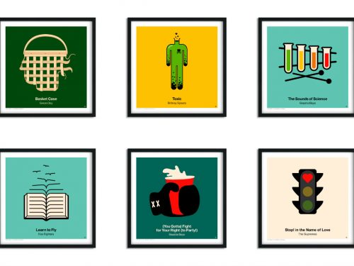Najlepsze utwory świata w formie piktogramu? Te grafiki będziesz chciał mieć na ścianie!