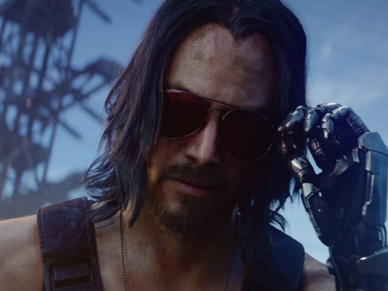 Keanu Reeves w grze Cyberpunk 2077 – zobacz oficjalny zwiastun