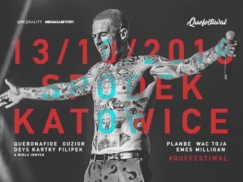 Wszyscy raperzy z wytwórni QueQuality na jednej scenie. Na #QUEFESTIWAL będzie ogień!