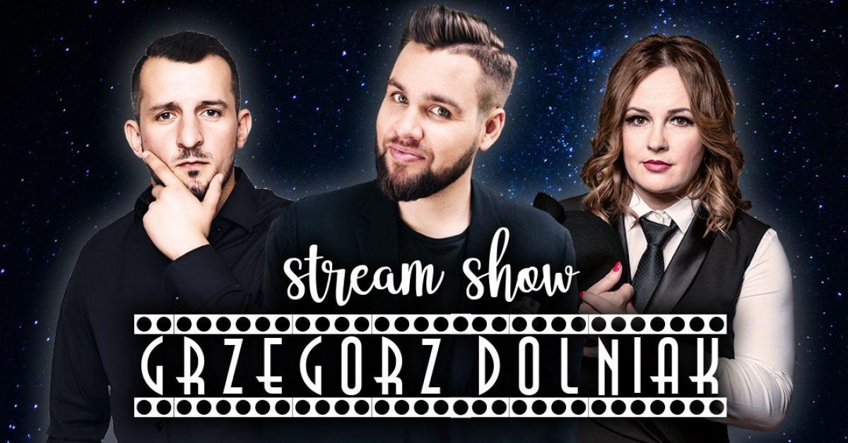 Grzegorz Dolniak zaprasza na komediowe show online