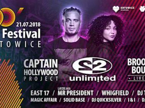 Capitan Hollywood i 2 unlimited gwiazdami tegorocznego 90's Festival!