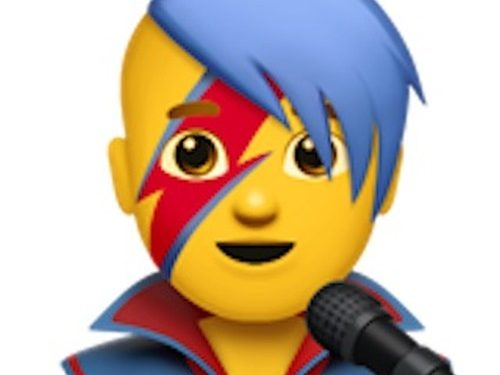 Emoji inspirowane Davidem Bowiem w nowej aktualizacji iPhone'ów