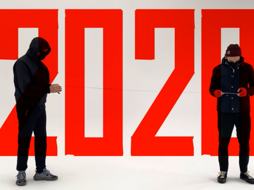Fisz Emade Tworzywo żegnają 2020 rok środkowym palcem