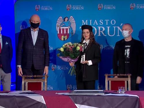 Kasia Lins laureatką wyjątkowej Nagrody im. Grzegorza Ciechowskiego