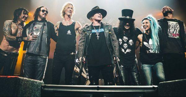 Guns N' Roses zagrają koncert na Stadionie Narodowym