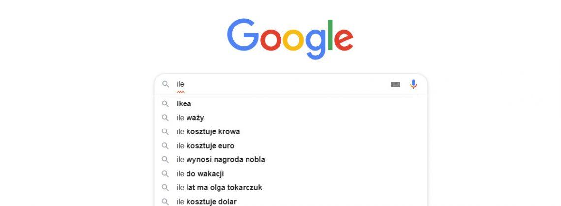 Czego Polacy najczęściej wyszukiwali w Google w 2019 roku?
