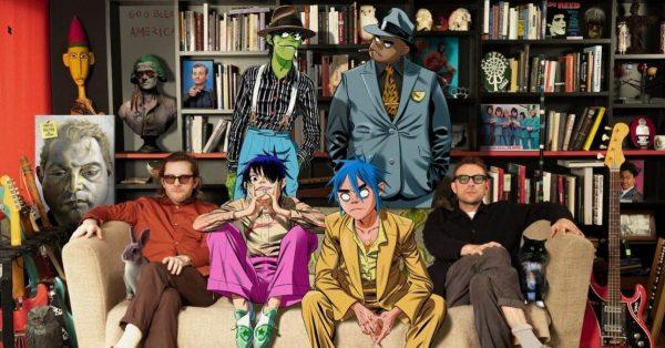 Gorillaz nagrali wspólny utwór z Robertem Smithem z The Cure