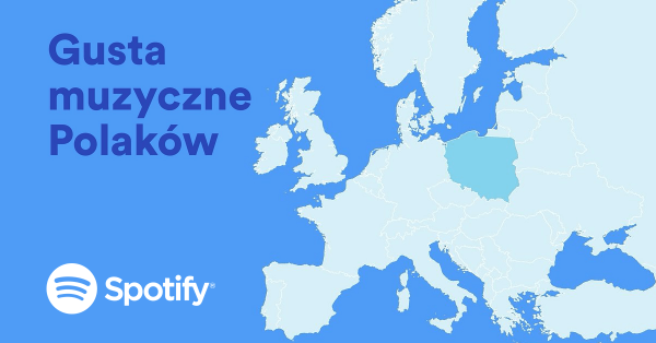 Spotify prezentuje gusta muzyczne Polaków