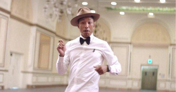"""""""Happy"""" Pharrella Williamsa najczęściej odtwarzaną piosenką dekady. Zobaczcie zestawienie"""