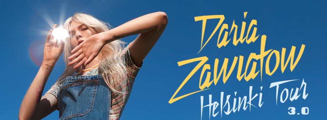 Daria Zawiałow zapowiada trasę wiosenną – Helsinki Tour 3.0