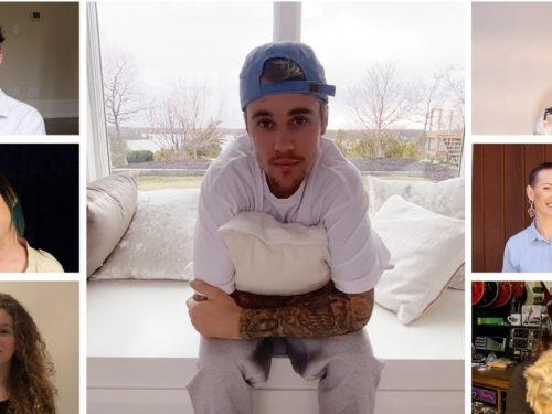 """Justin Bieber, Avril Lavigne i inni kanadyjscy artyści śpiewają """"Lean On Me"""" Billa Withersa"""
