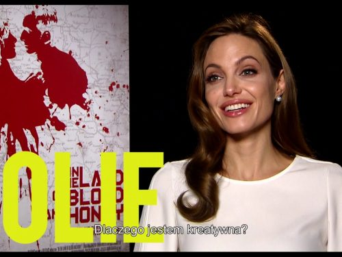 """""""Dlaczego jesteśmy kreatywni?"""" Angelina Jolie odpowiada w nowym filmie!"""