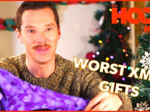Jak reagować na nieudane prezenty? Szybka lekcja od Benedicta Cumberbatcha!
