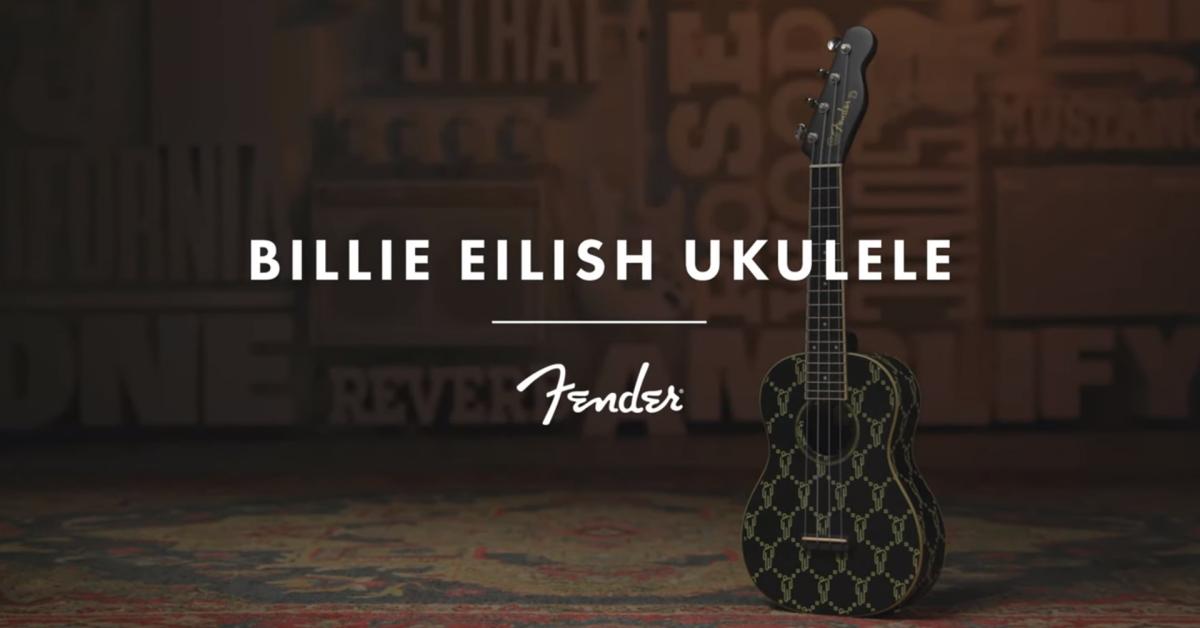 Billie Eilish wraz z marką Fender zaprojektowała własne ukulele